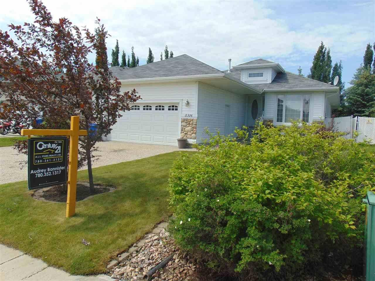 House for sale at 5316 43 St Wetaskiwin Alberta - MLS: E4183094