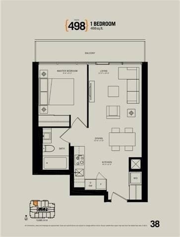 Apartment for rent at 70 Temperance St Unit 5316 Toronto Ontario - MLS: C4447304