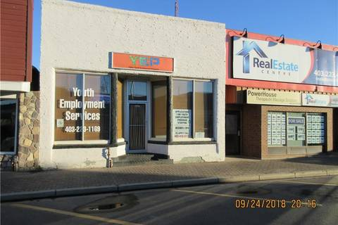 Commercial property for sale at 5327 48 Ave Taber Alberta - MLS: LD0148415