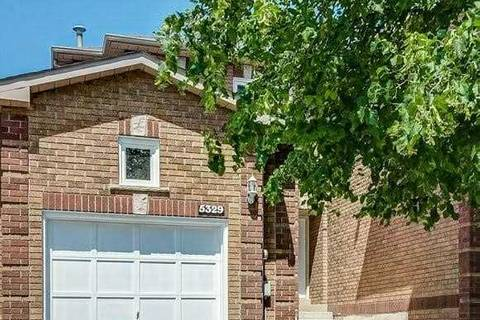 Townhouse for sale at 5329 Richborough Dr Mississauga Ontario - MLS: W4538406