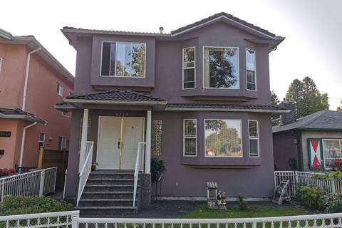 House for sale at 5329 Wales St Vancouver British Columbia - MLS: R2401535