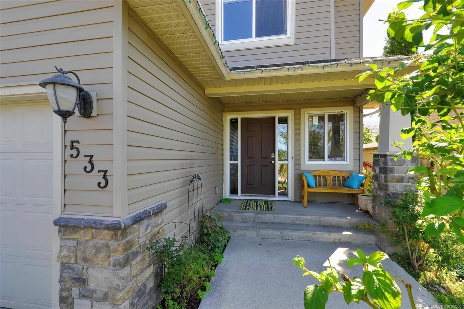 House for sale at 533 Quartz Cres Kelowna British Columbia - MLS: 10192100