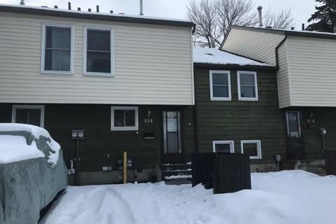 Townhouse for sale at 534 Abbottsfield Rd Nw Edmonton Alberta - MLS: E4139206