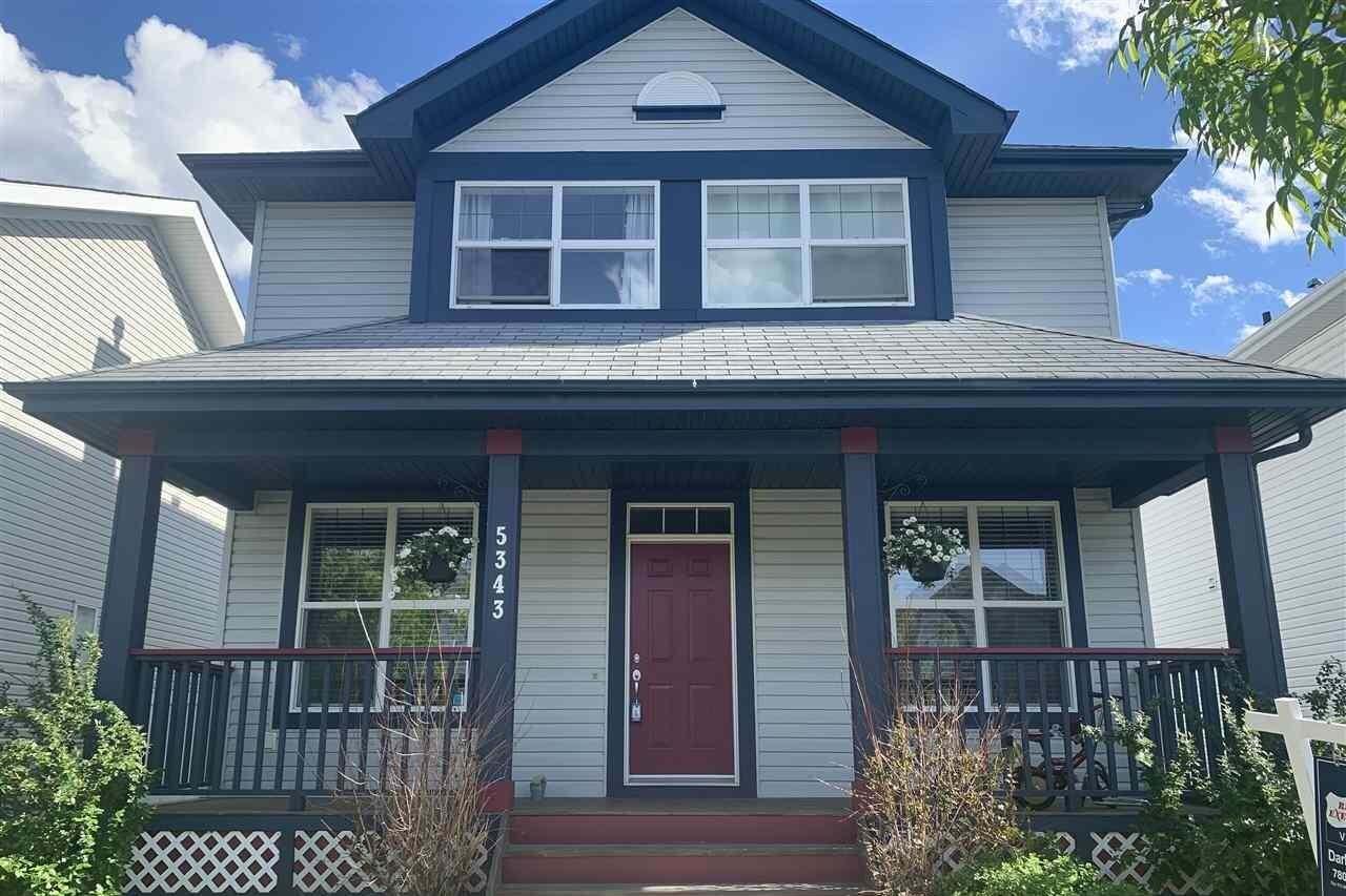 House for sale at 5343 Terwillegar Bv NW Edmonton Alberta - MLS: E4204362