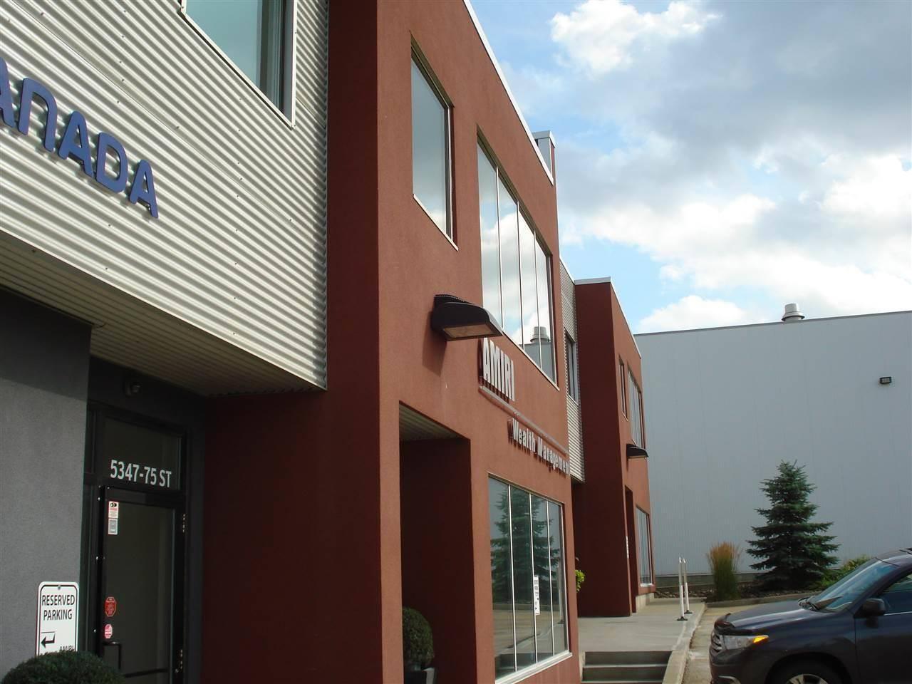 Commercial property for lease at 5345 75 St Se Edmonton Alberta - MLS: E4172593