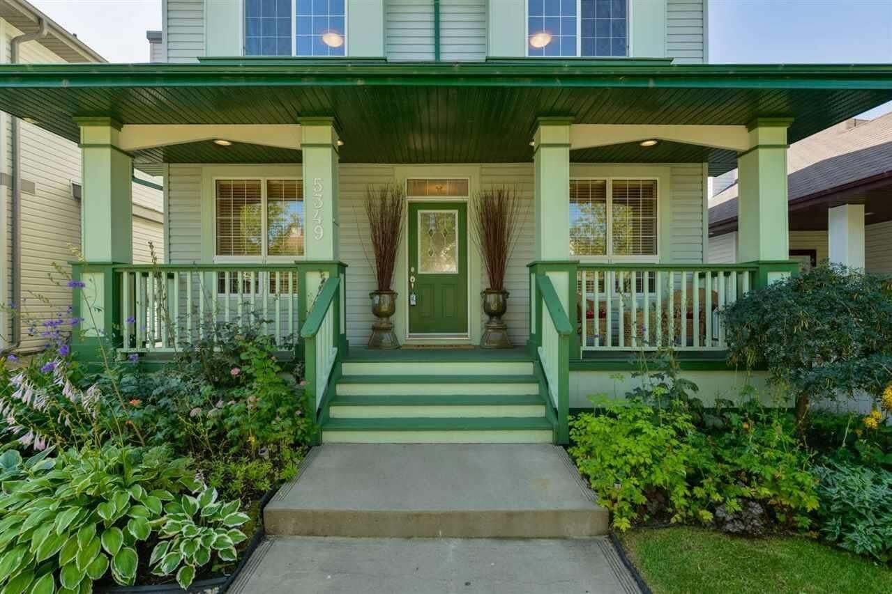 House for sale at 5349 Terwillegar Bv NW Edmonton Alberta - MLS: E4209242