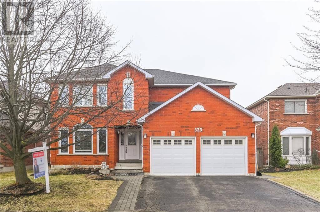 House for sale at 535 Grand Ridge Dr Cambridge Ontario - MLS: 30800925