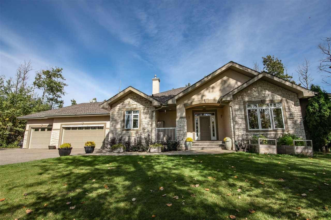 House for sale at 53521 Range Rd Rural Parkland County Alberta - MLS: E4173961