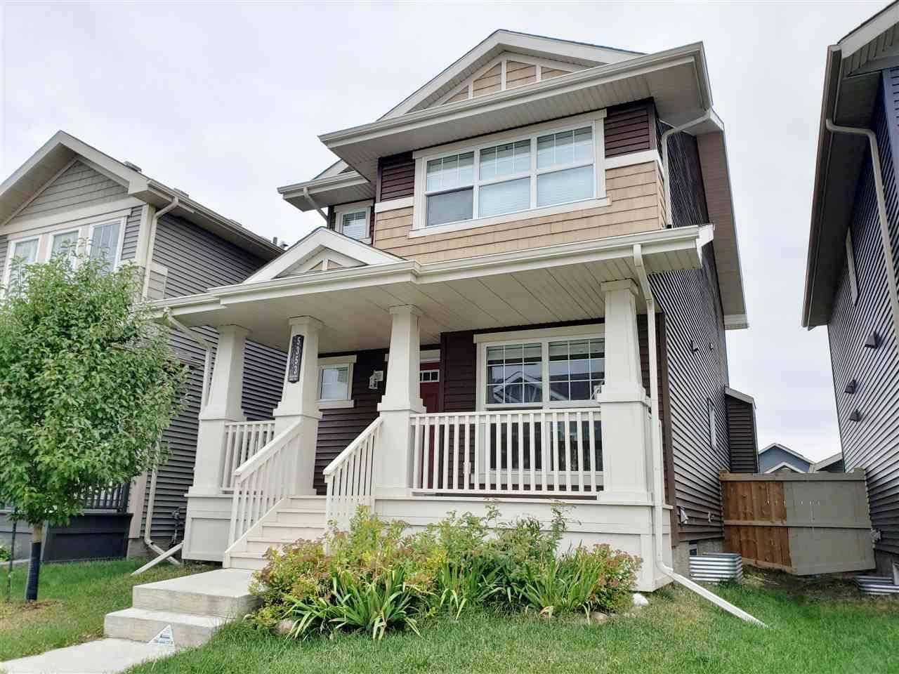 House for sale at 5353 Crabapple Lo  Sw Edmonton Alberta - MLS: E4174288