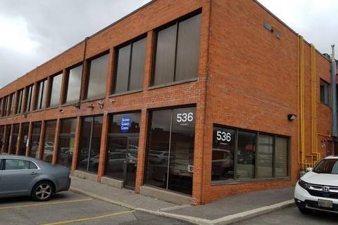 Commercial property for lease at 536 Champagne Dr Toronto Ontario - MLS: W4580539