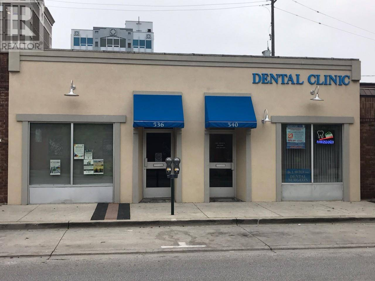 Commercial property for lease at 536 Pelissier  Windsor Ontario - MLS: 19025365