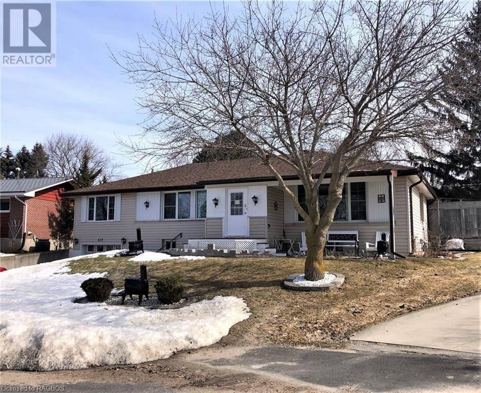 House for sale at 537 18th Ave Hanover Ontario - MLS: 251263