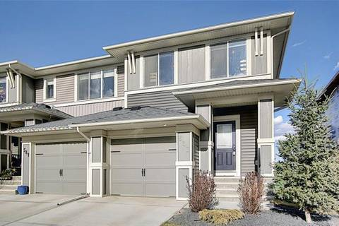 Townhouse for sale at 537 Hillcrest Rd Southwest Airdrie Alberta - MLS: C4295038