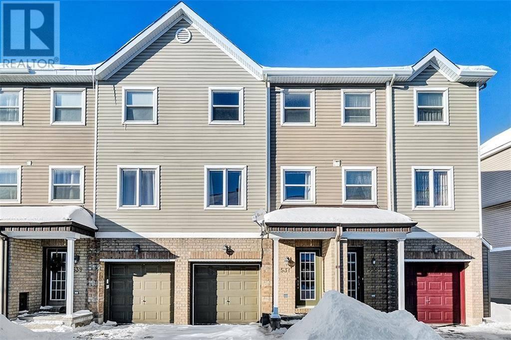 Townhouse for sale at 537 Simran Pt Ottawa Ontario - MLS: 1179480