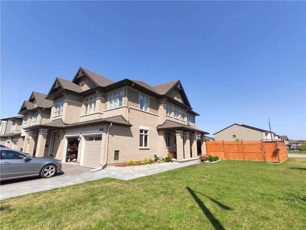 Townhouse for rent at 537 Stargazer Cres Ottawa Ontario - MLS: 1163543