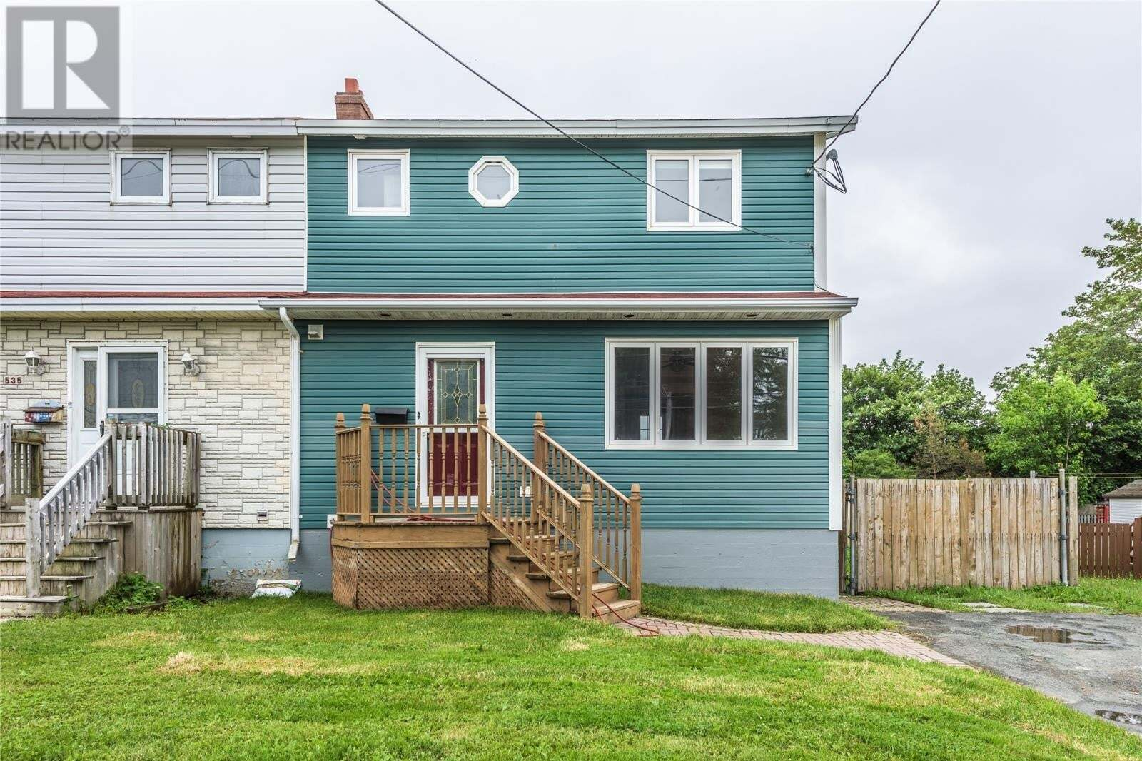 House for sale at 537 Topsail Rd St. John's Newfoundland - MLS: 1222450