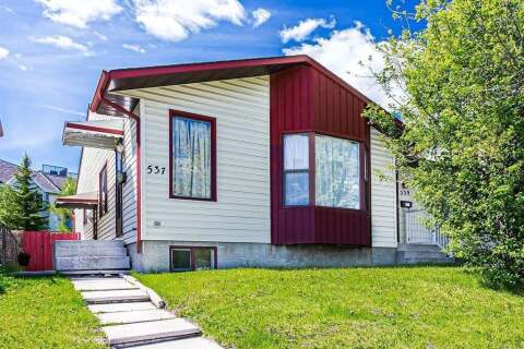 Townhouse for sale at 537 Whiteland Dr NE Calgary Alberta - MLS: C4291967