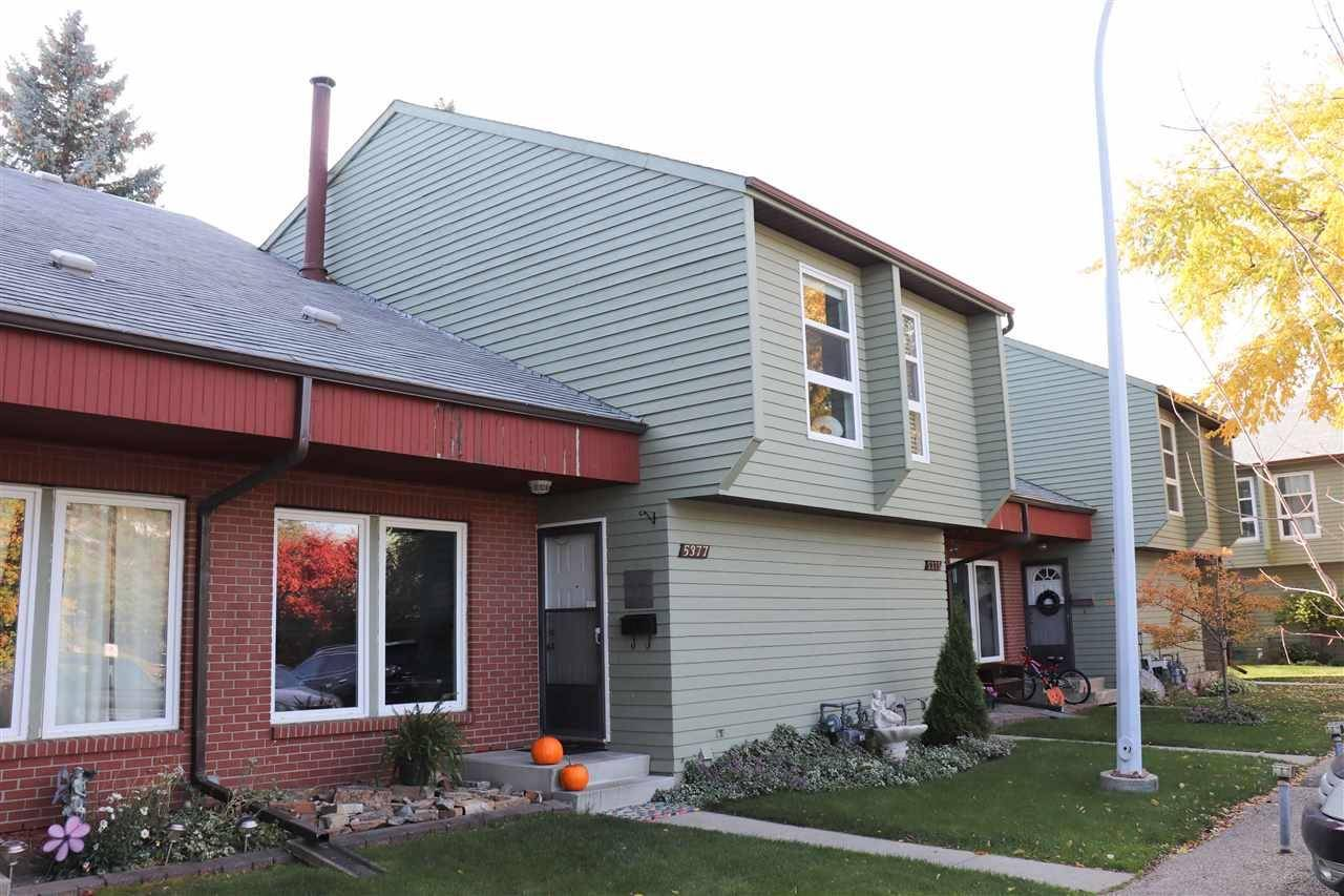 Townhouse for sale at 5377 Hill View Cres Nw Edmonton Alberta - MLS: E4175976