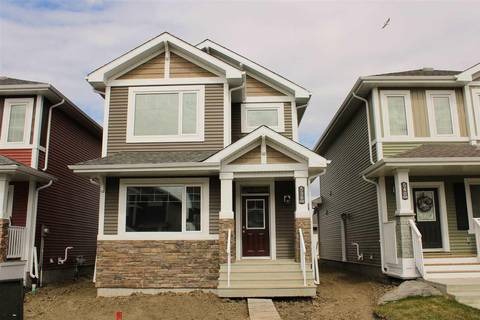 House for sale at 538 Ebbers Wy Nw Edmonton Alberta - MLS: E4156927