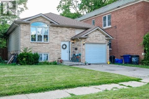 House for sale at 539 Oak  Windsor Ontario - MLS: 19021684