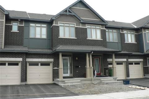Townhouse for rent at 539 Rioja St Ottawa Ontario - MLS: 1152418