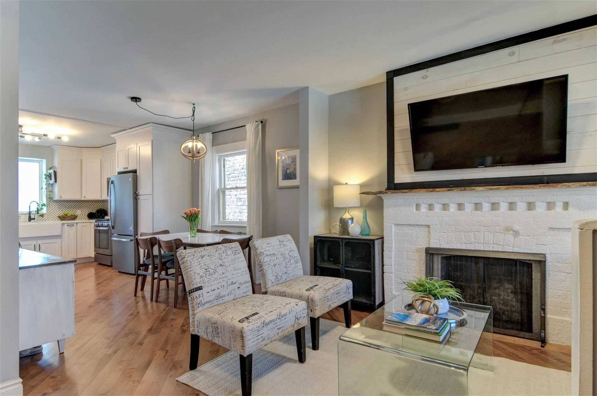 Townhouse for sale at 53 Macgregor Ave Toronto Ontario - MLS: W4736910
