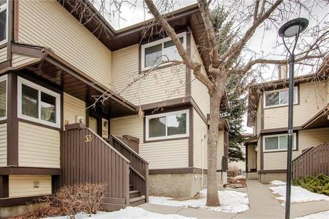 Townhouse for sale at 115 Bergen Rd Northwest Unit 54 Calgary Alberta - MLS: C4289641