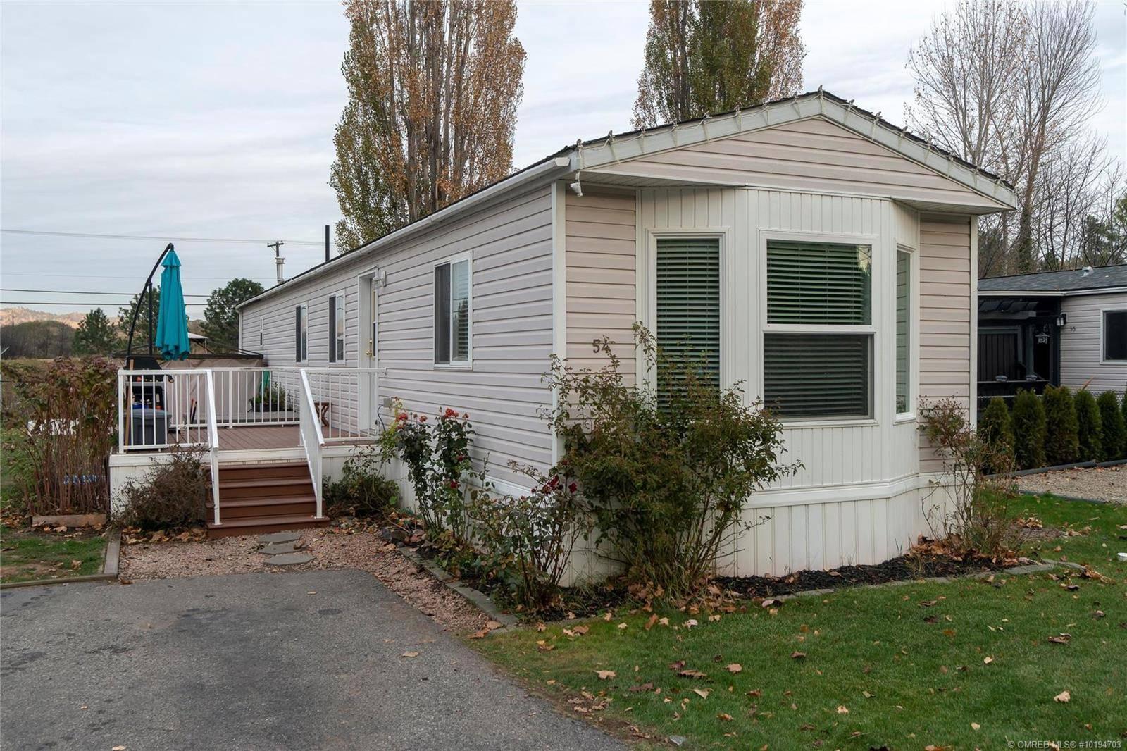 Home for sale at 1525 Westside Rd Unit 54 Kelowna British Columbia - MLS: 10194703