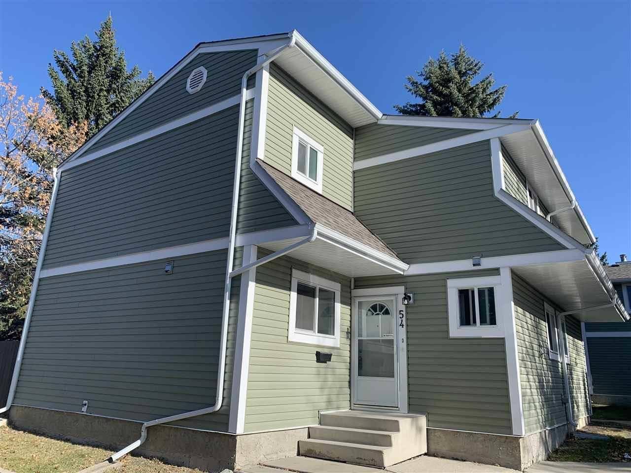 Townhouse for sale at 1820 56 St Nw Unit 54 Edmonton Alberta - MLS: E4176150
