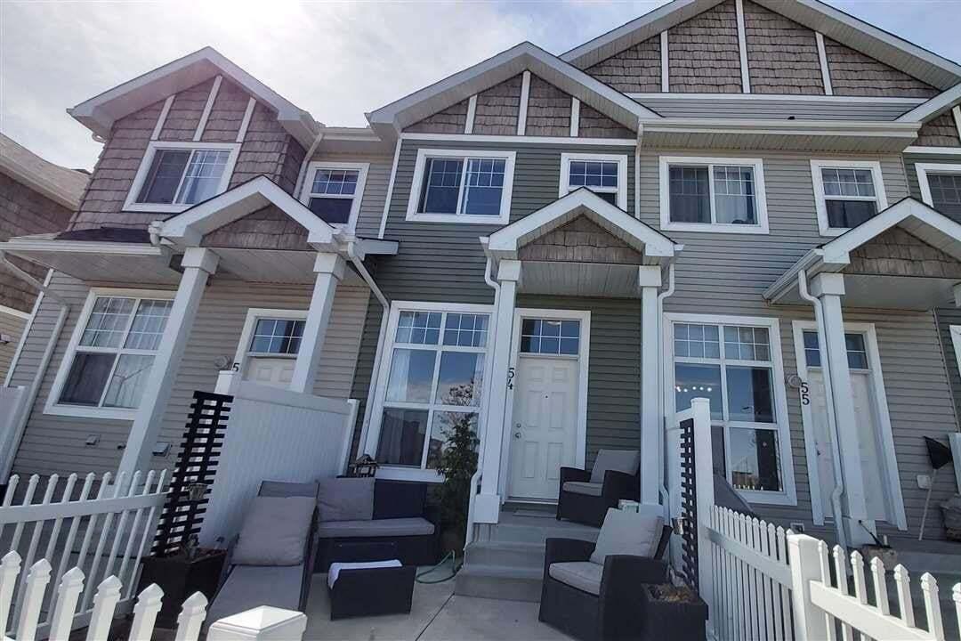Townhouse for sale at 2051 Towne Centre Bv NW Unit 54 Edmonton Alberta - MLS: E4196792