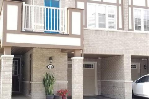 Townhouse for rent at 22 Spring Creek Dr Unit 54 Waterdown Ontario - MLS: H4056939