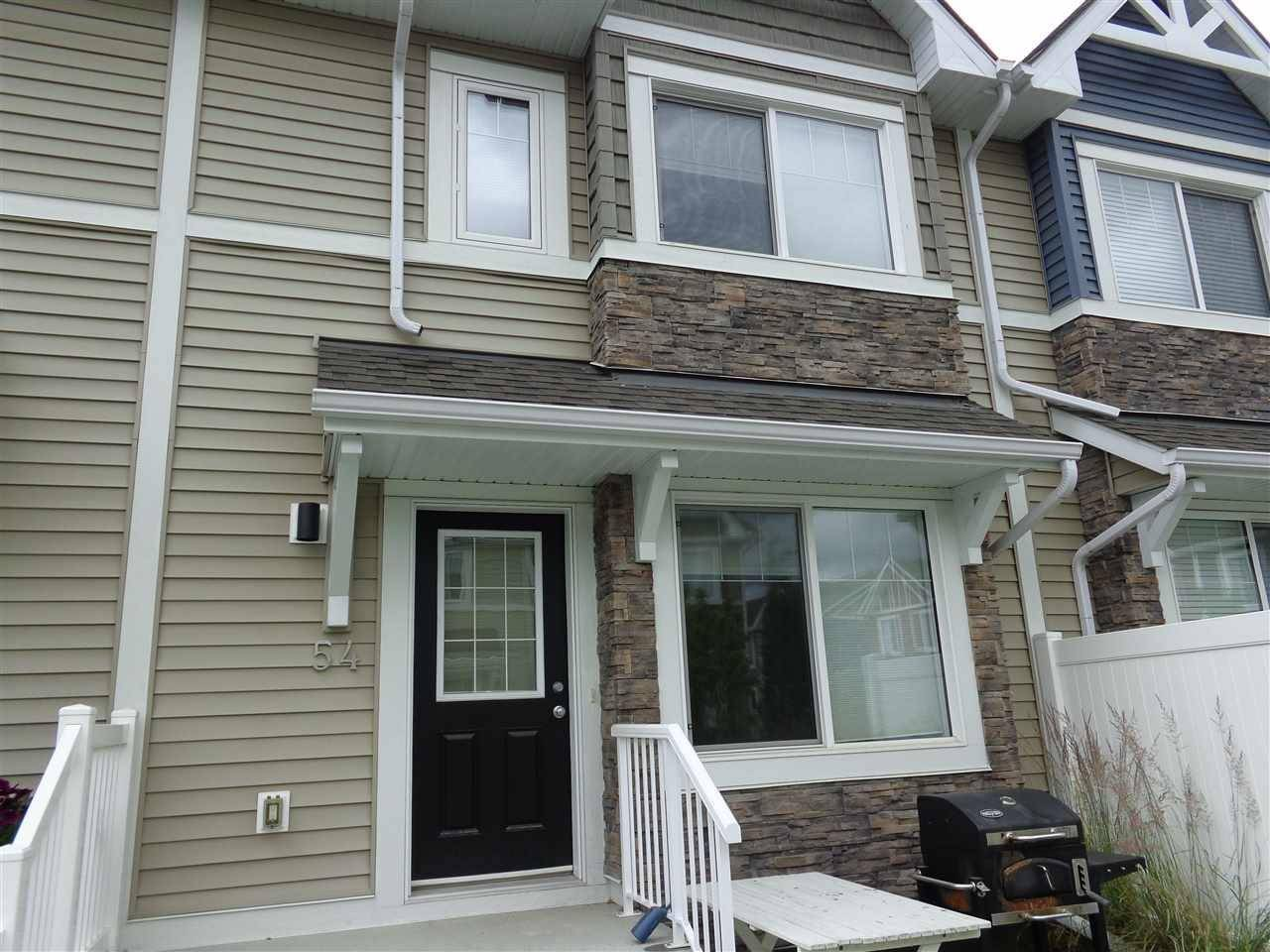 Townhouse for sale at 415 Clareview Rd Nw Unit 54 Edmonton Alberta - MLS: E4167592