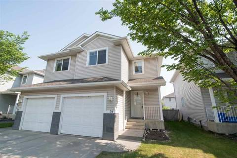 Townhouse for sale at 4350 23 St Nw Unit 54 Edmonton Alberta - MLS: E4160369