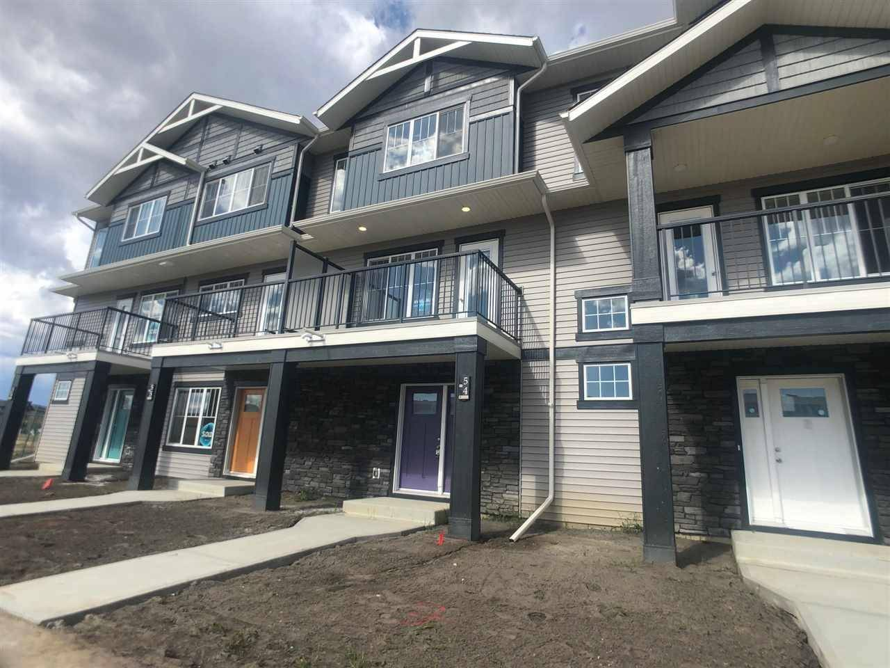 Townhouse for sale at 50 Mclaughlin Dr Unit 54 Spruce Grove Alberta - MLS: E4182712