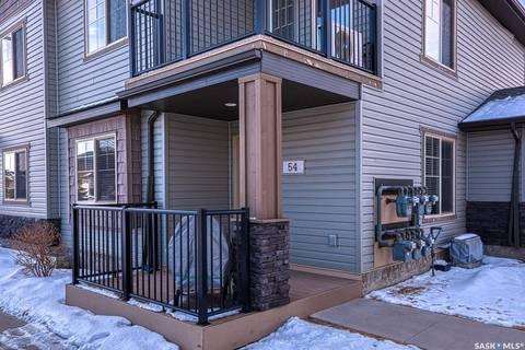 Townhouse for sale at 5565 Blake Cres Unit 54 Regina Saskatchewan - MLS: SK801231