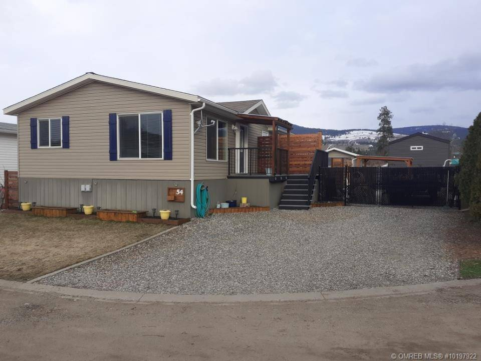 Home for sale at 8945 Highway 97 Hy North Unit 54 Lake Country British Columbia - MLS: 10197922