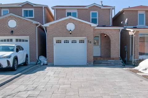 Residential property for sale at 54 Alderbury Dr Markham Ontario - MLS: N4728850