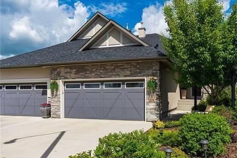 Townhouse for sale at 54 Cimarron Estates Green Okotoks Alberta - MLS: C4254177