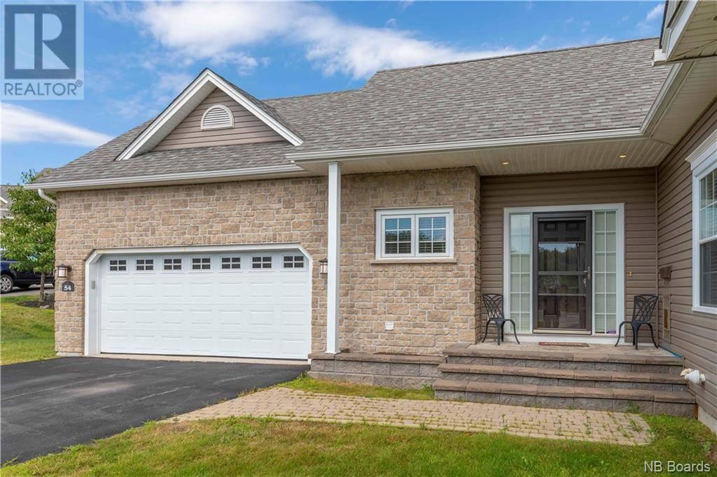 House for sale at 54 Clipper Passage Saint John New Brunswick - MLS: NB031150