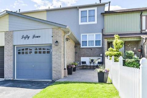 Townhouse for sale at 54 Dunthorne Ct Toronto Ontario - MLS: E4476481