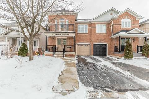 Townhouse for sale at 54 Fordwich Blvd Brampton Ontario - MLS: W4693342