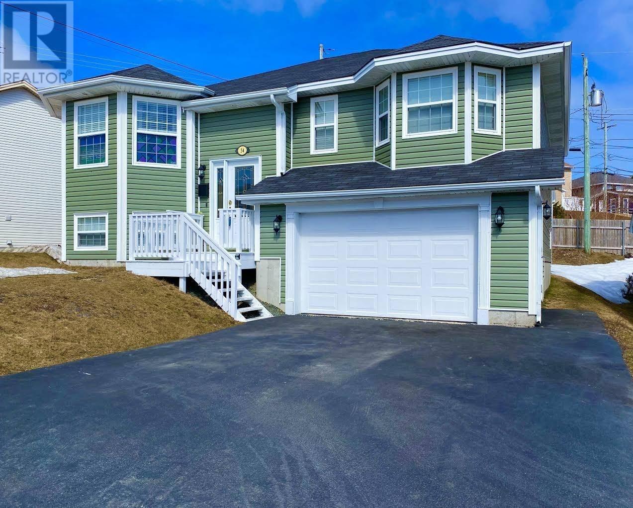 House for sale at 54 Gairlock St St. John's Newfoundland - MLS: 1212201