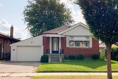 House for sale at 54 Kingsdown Dr Toronto Ontario - MLS: E4542342