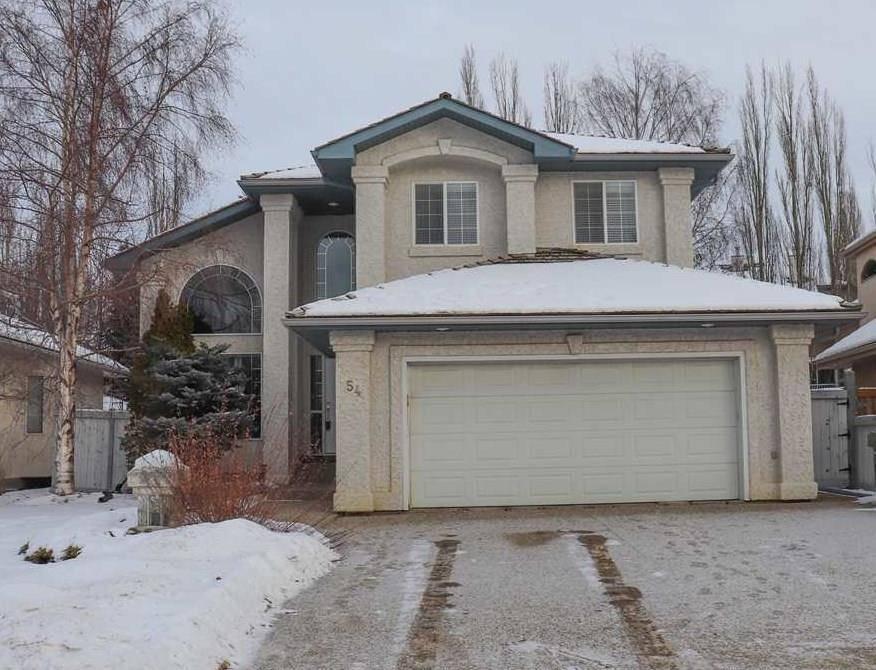 House for sale at 54 Leonard Dr St. Albert Alberta - MLS: E4183465