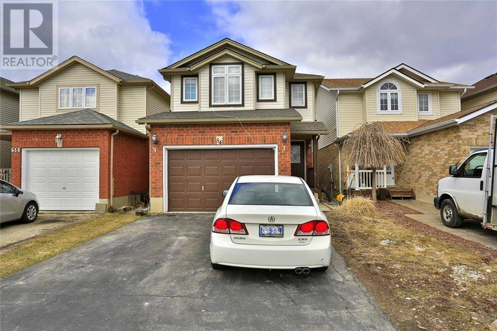 House for sale at 54 Pine Martin Cres Kitchener Ontario - MLS: 30800715