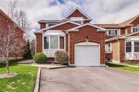 House for rent at 54 Springfield Wy Vaughan Ontario - MLS: N4549872