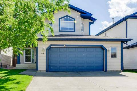 House for sale at 54 Sunflower Cres Sherwood Park Alberta - MLS: E4161669