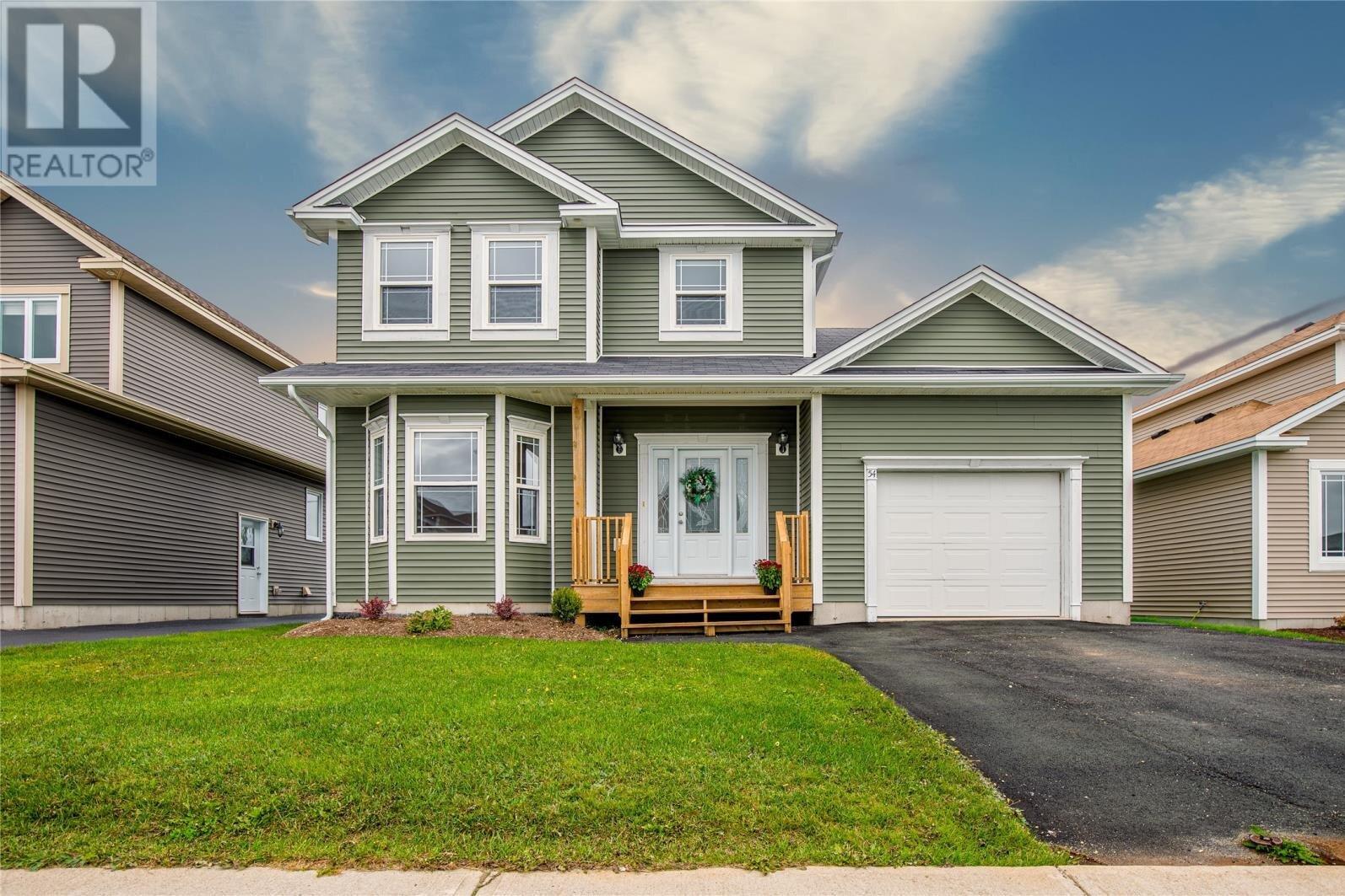 House for sale at 54 Teakwood Dr St. John's Newfoundland - MLS: 1221495