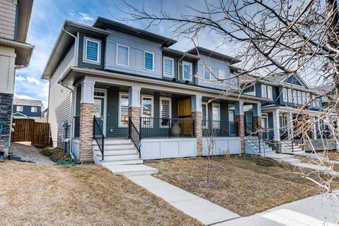 Townhouse for sale at 540 Evanston Li Northwest Calgary Alberta - MLS: C4237435