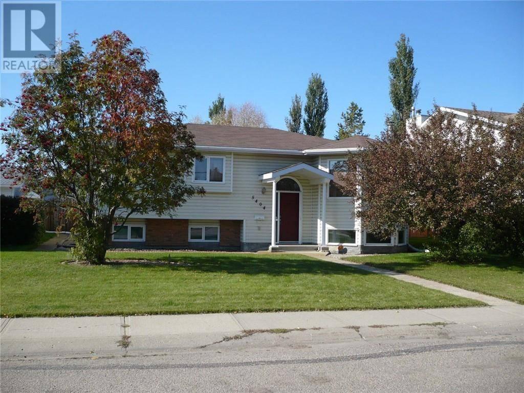 House for sale at 5404 63 St Ponoka Alberta - MLS: ca0180618